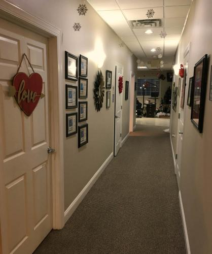 5.hallway into clinic